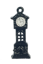 DOLLHOUSE MINIATURES METAL GRANDFATHER CLOCK #B1485 - $1.90