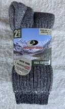 Mossy Oak Full Cushion Wool Socks 2 Pair 10-13 Shoe 6-12 New Unworn NWT - $24.50