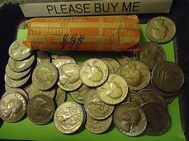 1980-D WASHINGTON QUARTER ROLL       >> C/S & H  - $15.84