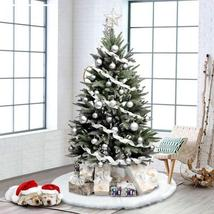 SALE! White Faux Fur Snow Christmas Tree Skirt (122cm/48inch) - $44.99
