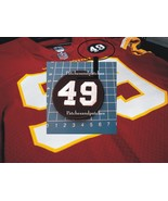 WASHINGTON FOOTBALL TEAM No.49 BOBBY MITCHELL MEMORIAL LOGO PATCH USA SPORTS SEW - $9.99