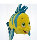 Disney Parks Authentic The Little Mermaid Flounder Plush New With Tags - $22.46