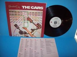 The CARS Heartbeat City Vinyl LP Record Pop Rock New Wave Vintage Album ... - $6.19