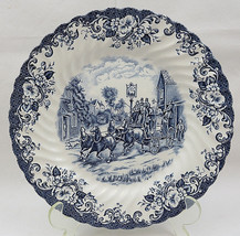 """Johnson Brothers Stoke on Trent England Stage Coaching Scenes 10"""" Plate Dinner - $20.00"""