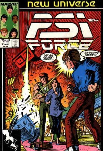 Psi-Force #7 [Comic] [Jan 01, 1987] David Micheline