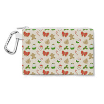 Christmas Cookies Canvas Zip Pouch - $15.99+