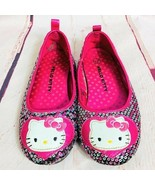 Hello Kitty Girls Sequin Shoes Sz 12 - $15.00