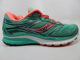 Saucony Guide 9 Size US 8.5 M (B) EU 40 Women's Running Shoes Green S10295-4