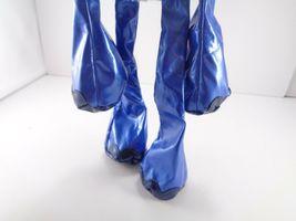 Tubular Blue Elephant Kamar Skoodlez 2008 beanbag plush With Sealed Coin image 4