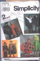 Simplicity 7470 Child's Costumes with Cape, Robe, Etc. - $2.95
