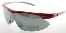 Timberland Wrap Red Gray Gun Sunglasses TB7070 66A - $26.46