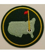 """The Masters Augusta Embroidered Patch~~3"""" Round~PGA Golf~Iron or Sew On  - $4.95"""