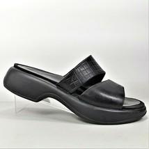 Dansko Women's Black Leather Mule Clog Shoes Size 8.5 US 39 EU Made In Portugal - $24.99