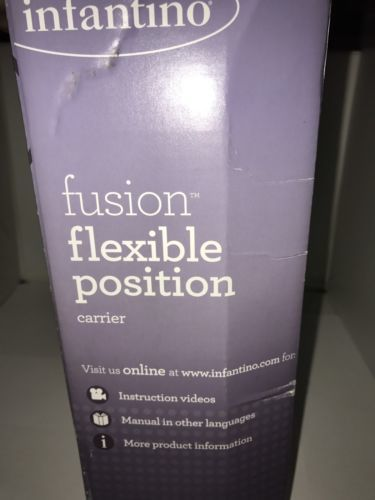 New Infantino Fusion Flexible Position Baby And Similar Items