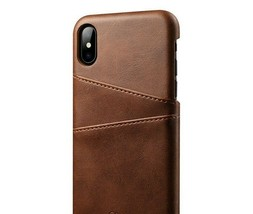 Case for iPhone X iPhone 10 PU Leather with Card Holder Pockets - $9.79