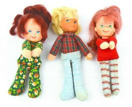 Vintage Lot Doll Honey Hill Bunch Mattel 1975 Kid Soft Cloth Plush Bodie... - $23.00