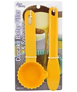 Acme Cupcake Batter Filler & Spreader Recipe Included Two Pieces Muffin ... - $3.96
