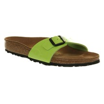 BIRKENSTOCK Madrid Sandals Green Womens Shoes Size 40 - $42.75