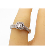 925 Sterling Silver - .50 Carat Genuine Diamonds Shiny Band Ring Sz 6 - ... - $84.06