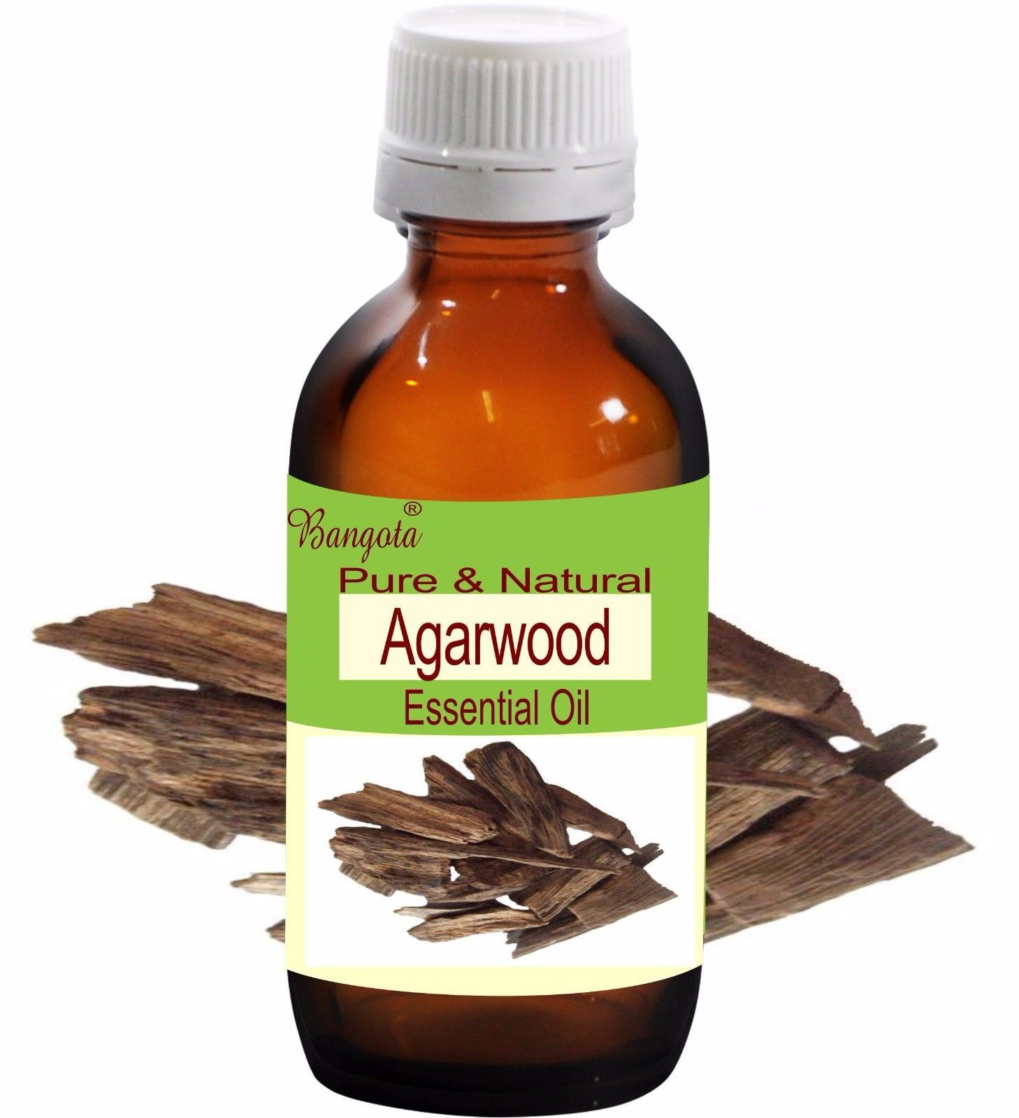 Agarwood Oil Pure Natural Essential Oil 15 ml Aquillaria agollocha by Bangota