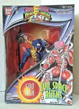 Mighty Morphin Power Rangers Evil Space Aliens GOOFISH Action Figure Ban... - $36.00