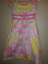 Lilly Pulitzer Little Girls Spring In Bloom  Dress Sz 5 Adorable  - $41.57