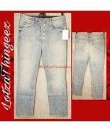 """MOTHER The Lace Up Dazzler High Waist Ankle Straight TINGE Jeans 28x26"""" ... - $119.78"""