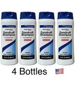 4 X ASSURED DANDRUFF SHAMPOO 13.5 oz Moisturizing Dry Itchy Scalp Care New - $18.32