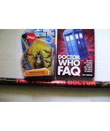 Dr. Who Skovox Blitzer Action Figure Wave 3 / Dr.Who Fact Book & 12th Dr... - $14.00