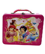 Walt Disney Princesses Large Carry All Tin Tote Lunchbox Style B NEW UNUSED - $16.40