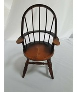 Colonial Style High Back Doll Chair  - $11.87