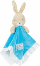 KIDS PREFERRED Peter Rabbit Plush Stuffed Animal Snuggler Blanket BLUE NEW - $12.99