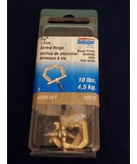 Stanley National 3/4 Inch Brass Decorative Screw Rings Pack Of 3 N259-861 - $4.21
