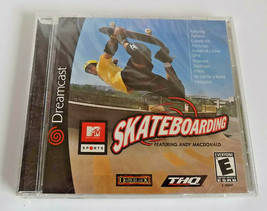 MTV Sports: Skateboarding Featuring Andy Macdonald BRAND NEW Sega Dreamcast - $29.95