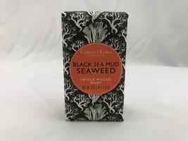 Crabtree Evelyn Bath Triple Milled Bar Soap BLACK SEA MUD & SEAWEED 5.6 oz - $12.00