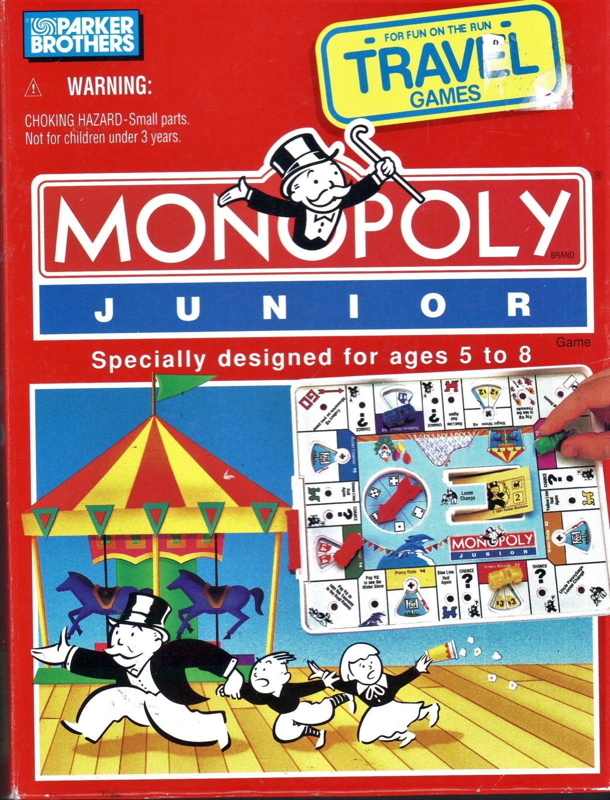 Monopoly Junior - Travel Game