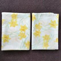 Vintage Pillowcases Pequot Floral Cottage Chic - $14.99