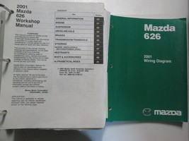 2001 Mazda 626 Service Repair Shop Manual and Electrical Wiring SET FACT... - $118.75