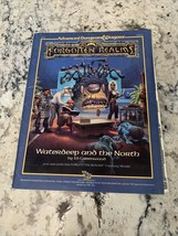 Advanced Dungeons And Dragons Forgotten Realms Waterdeep And The North With Map - $39.59