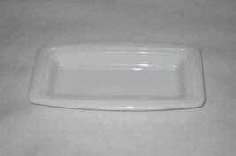 "Neat 7"" X 3 1/2"" White PYREX Butter Dish Bottom Only - $11.64"