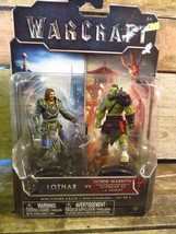Warcraft Lother Vs Horde Warrior Mini Figure 2 Pack New - $2.96