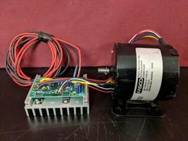 Fasco 7103-0113 DC Motor Type 03 24V 5.2A w/ 6110-9041 Board / 30 DAY GU... - $66.83