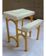 TOY Doll House Furniture School College Desk Office Kids Play Used - $13.33