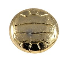 Creative Pewter Designs, Soccer Ball Magnet, 24k Gold Plated, AG500M - €19,65 EUR