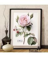 Lovely Flowers DIY 3D Embroidery Diamod Painting Mosaic Needlework Cross... - $12.00
