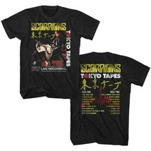 New SCORPIONS Tokyo Tapes  LICENSED CONCERT BAND  T Shirt   - $21.77+