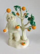 """Snowbabies Orange Grove Florida """" Snowbaby Juggling Oranges by Tree w/Box - $30.95"""