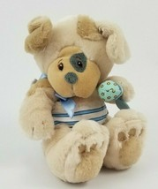 First & Main Pupsie Puppy Dog with Rattle Plush Stuffed Animal Baby Toy ... - $19.79