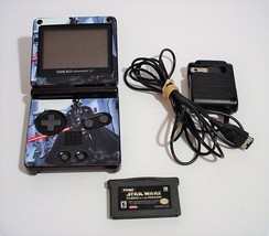Nintendo Game Boy Advance SP Black STAR WARS Handheld Console with Game - $59.99