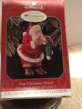 Hallmark Keepsake Ornament - New Christmas Friend - 1998 - QXC4516 - $5.95